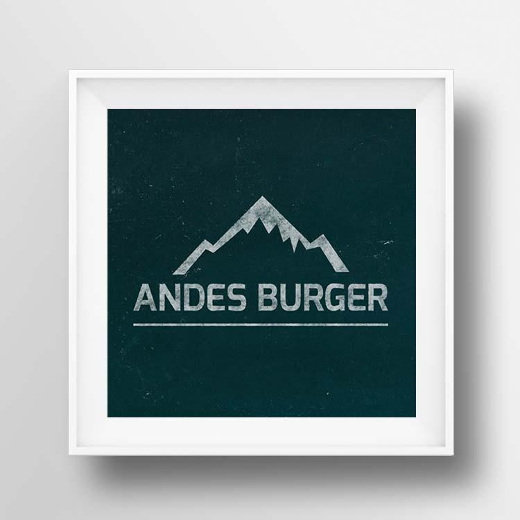 Andes Burger ZITRO Graphic Designer