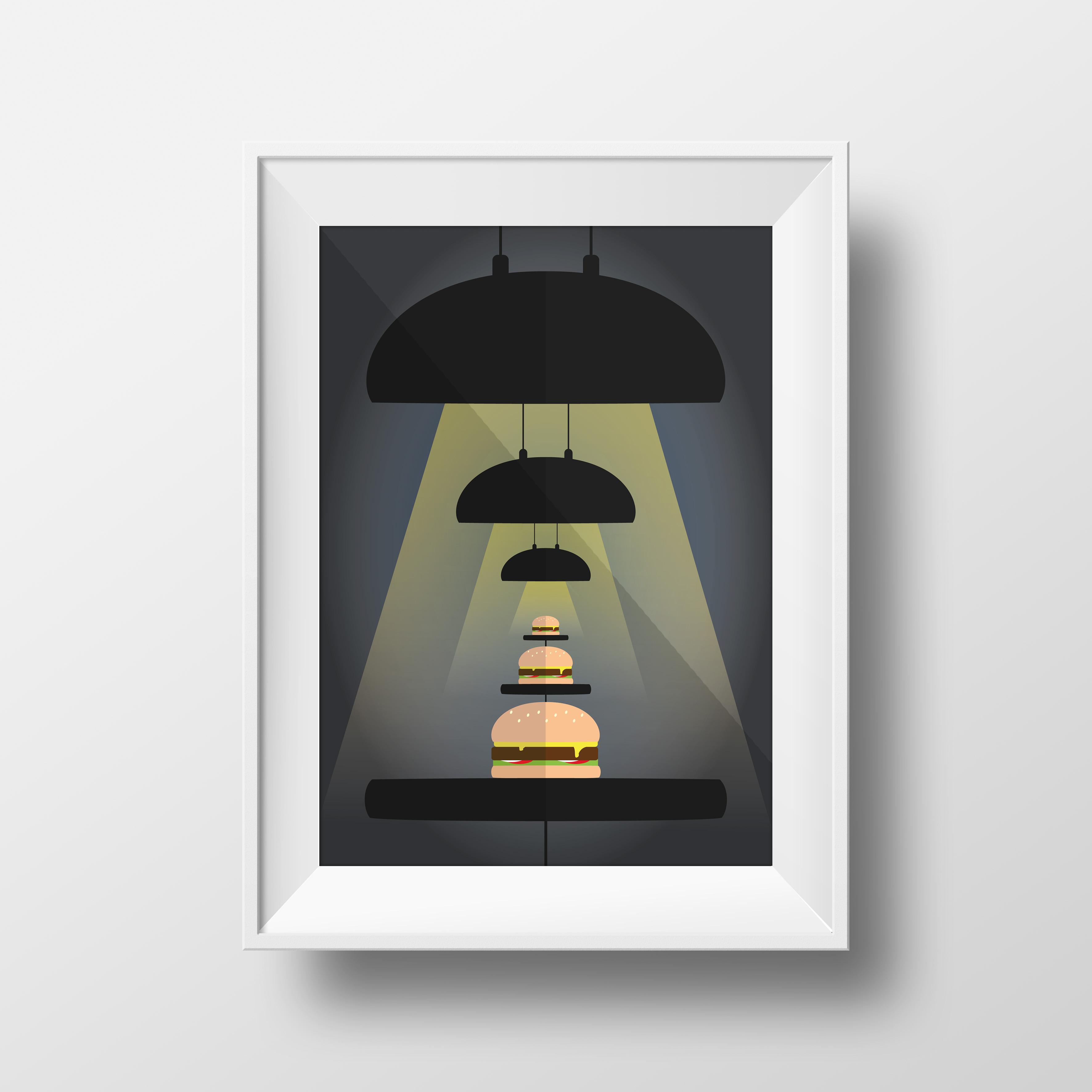 Burger Facts ZITRO Graphic Designer