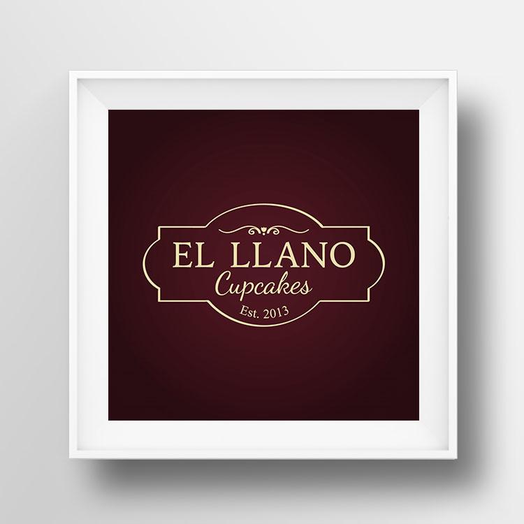 El Llano Cupcakes ZITRO Graphic Designer